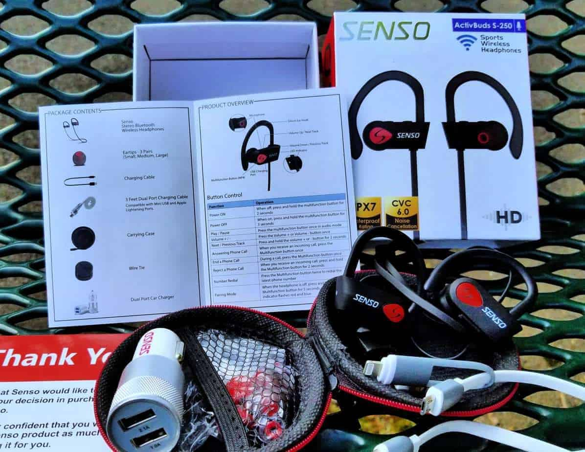 senso activbuds headphone review