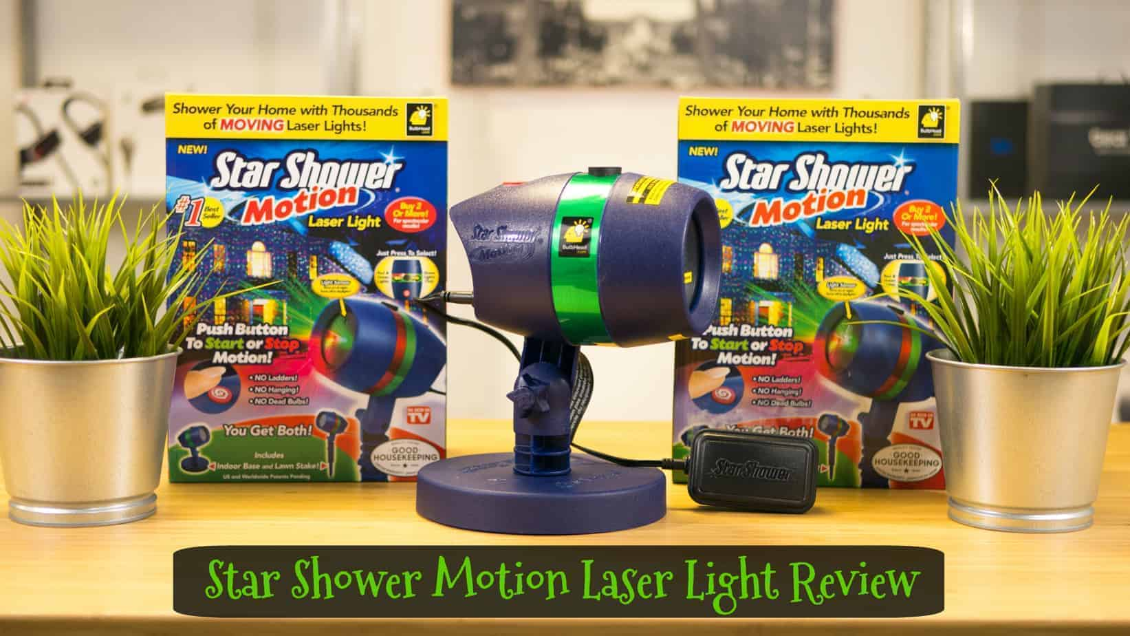 Star Shower Motion Holiday Laser Light Review