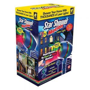 star shower motion laser light
