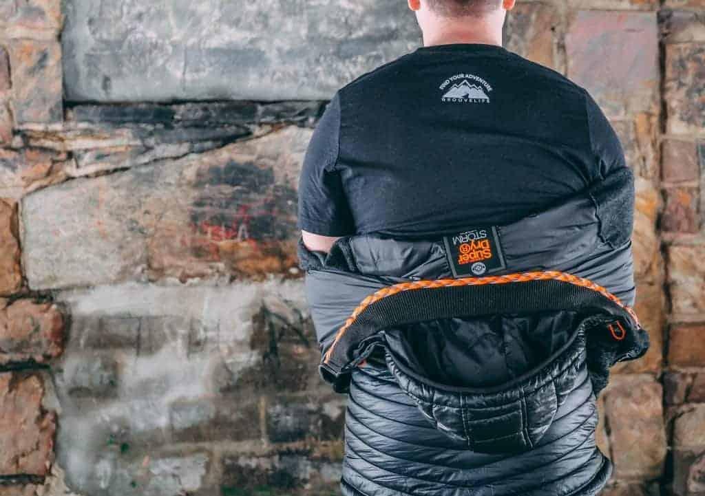 groove adventure gear yeti shirt - back