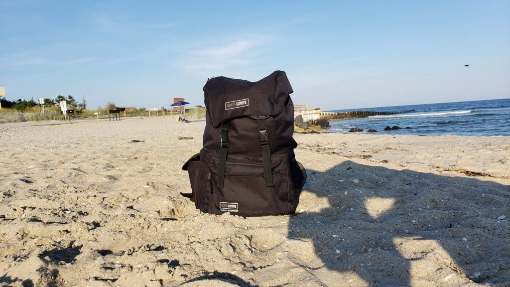north coyote backpack cooler beach