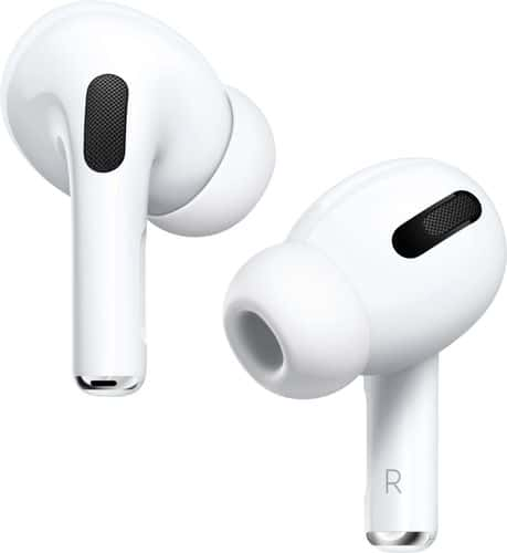 Apple - Geek Squad Certified Refurbished AirPods Pro - White